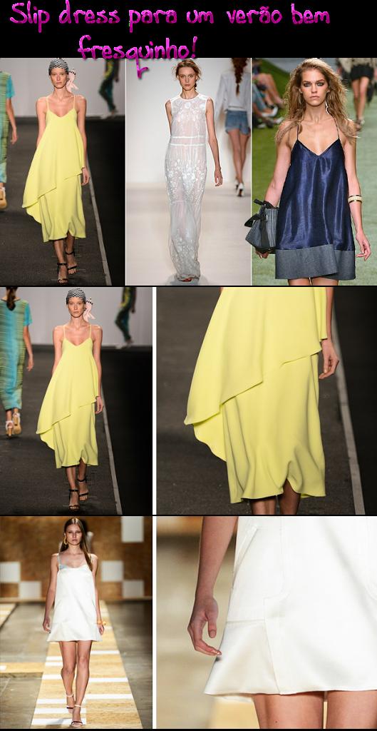 Slip dress: o clima boudoir pede tons suaves para refrescar o verão