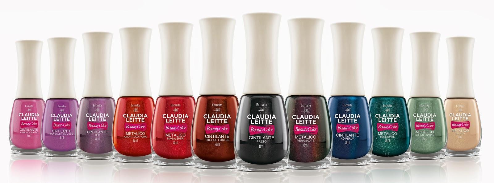 """A nova coleção da Beauty Color: """"Todo dia é dia de show"""" by Cláudia Leitte"""