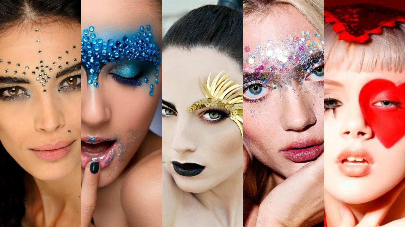 Carnaval 2016 – Inspirações de maquiagem