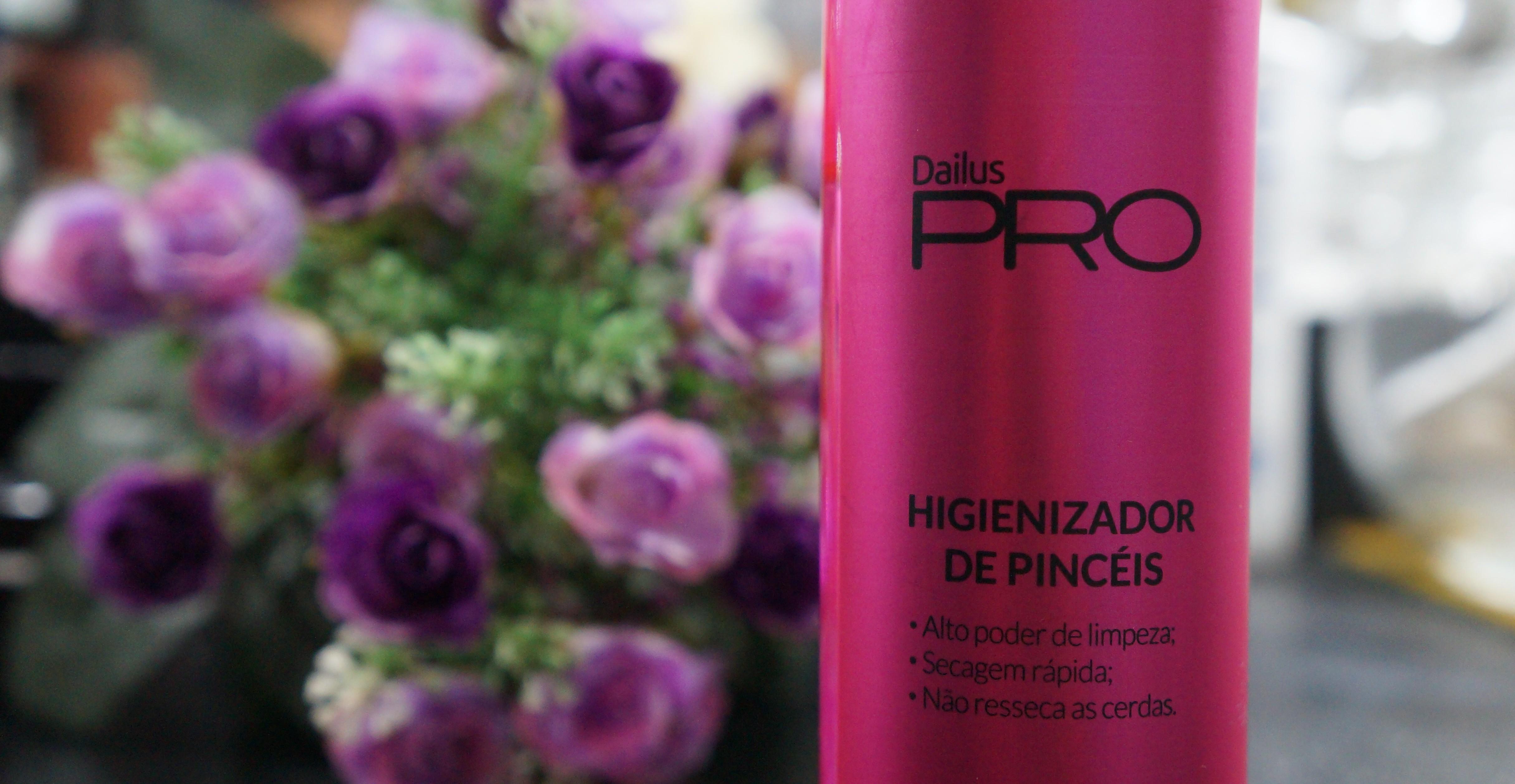 Higienizador de pincéis Dailus Pro – Resenha