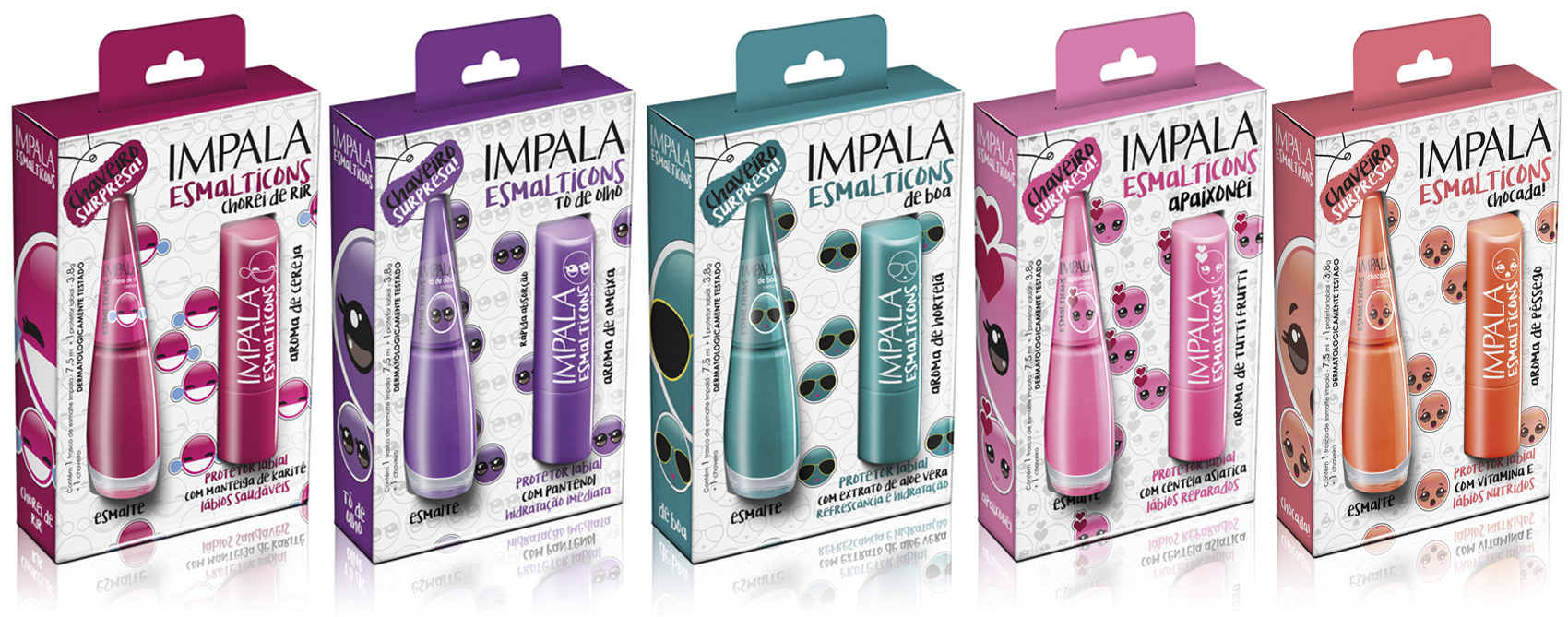 Impala lança Esmalticons: a nova coleção de verão da marca