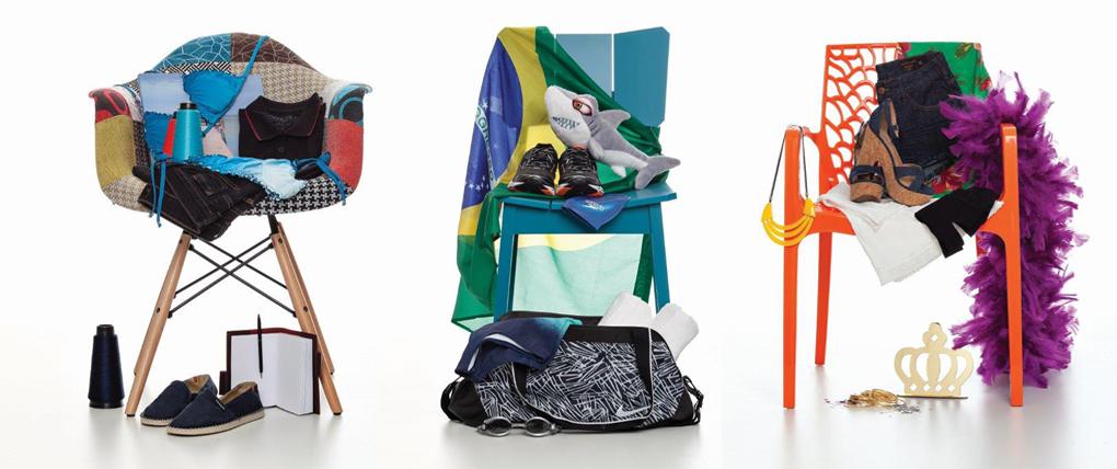 Exposição Chairs Who is Who no Shopping Frei Caneca