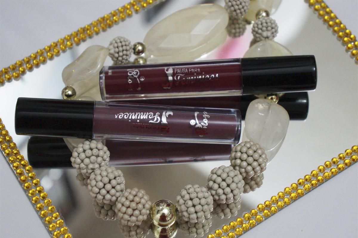 Resenha: Batons Líquidos Morgana e Hermione PPF