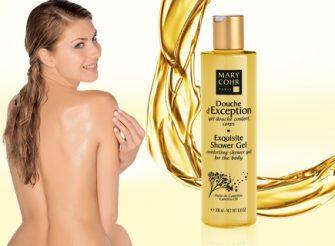Mary Cohr Douche d'Exception – O gel de banho corporal com óleo de Camelina