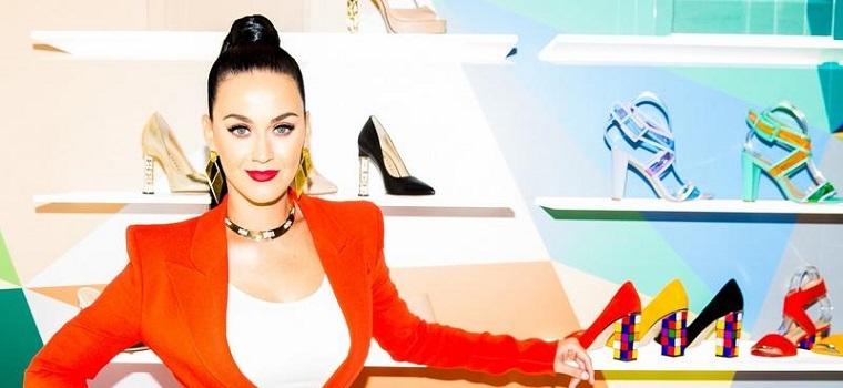 Katy Perry lança a própria linha divertida de calçados