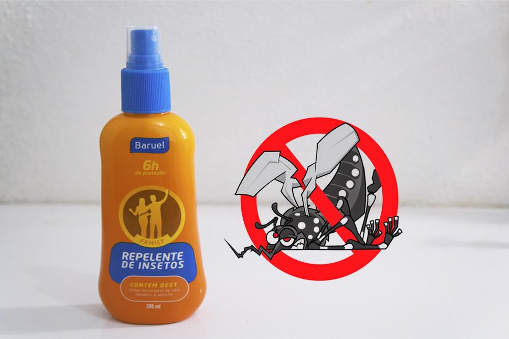 Repelente de insetos Baruel – Eu testei