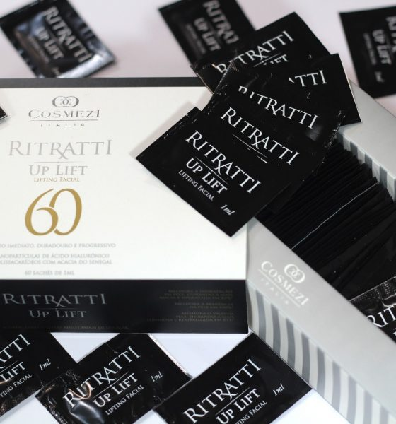 Sorteio de 1 Kit Up lift Ritratti 60 Cosmezi Itália