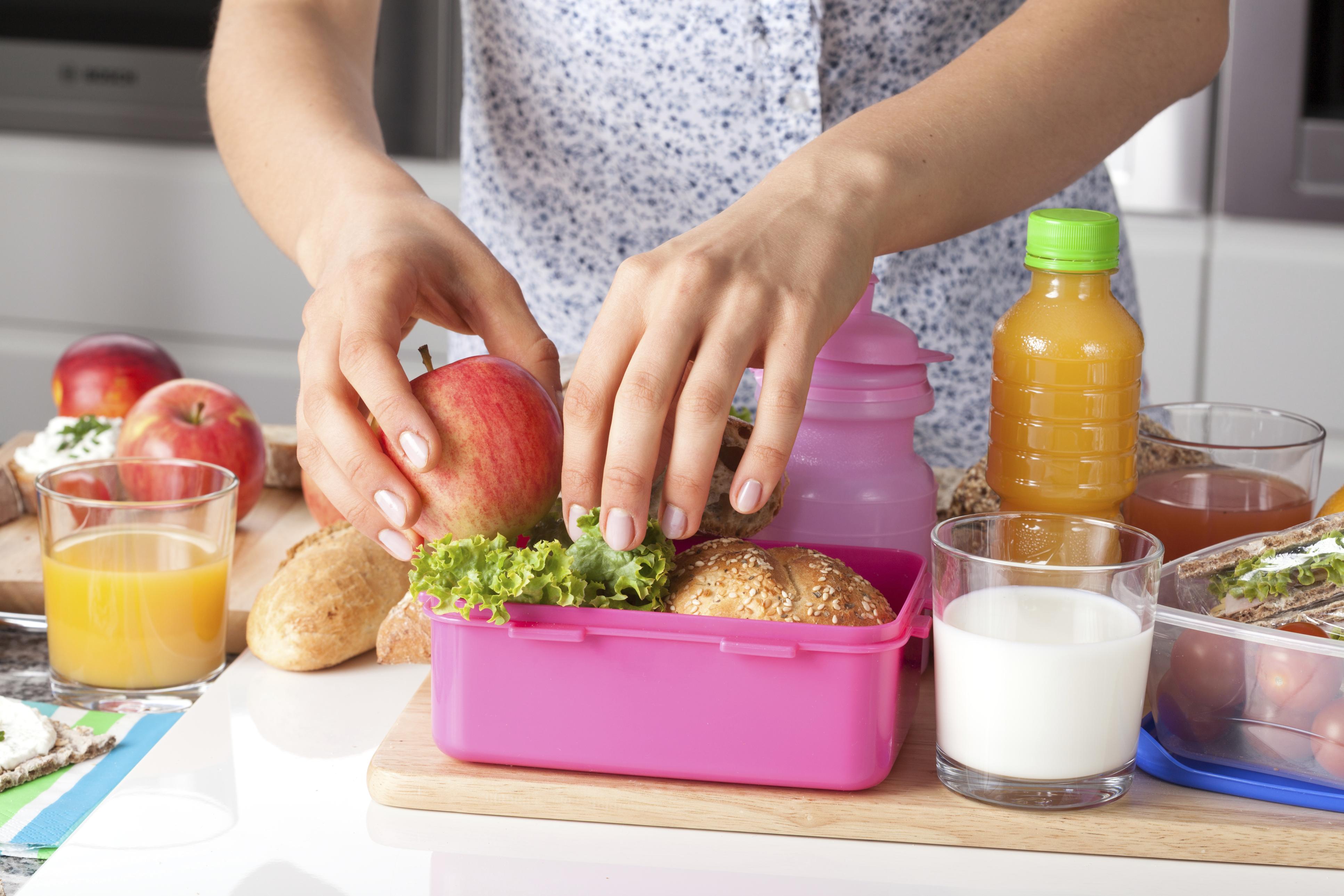 5 dicas para preparar uma lancheira saudável para seu filho