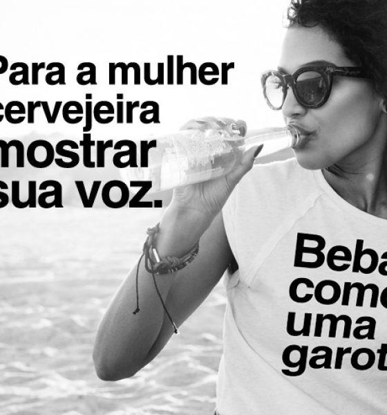 """Clube do Malte lança ação """"Beba como uma garota"""""""