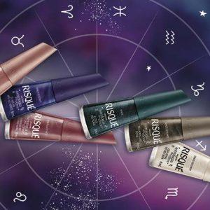 Risqué lança coleção de esmaltes Astrologia em Cores
