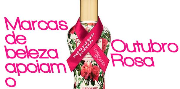 Outubro rosa: confira os produtos de beleza com renda revertida contra o câncer de mama