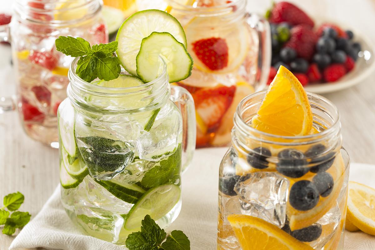 Água detox para perder peso rápido!
