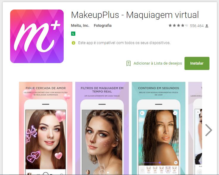 Teste antes sua maquiagem de Carnaval com o MakeupPlus
