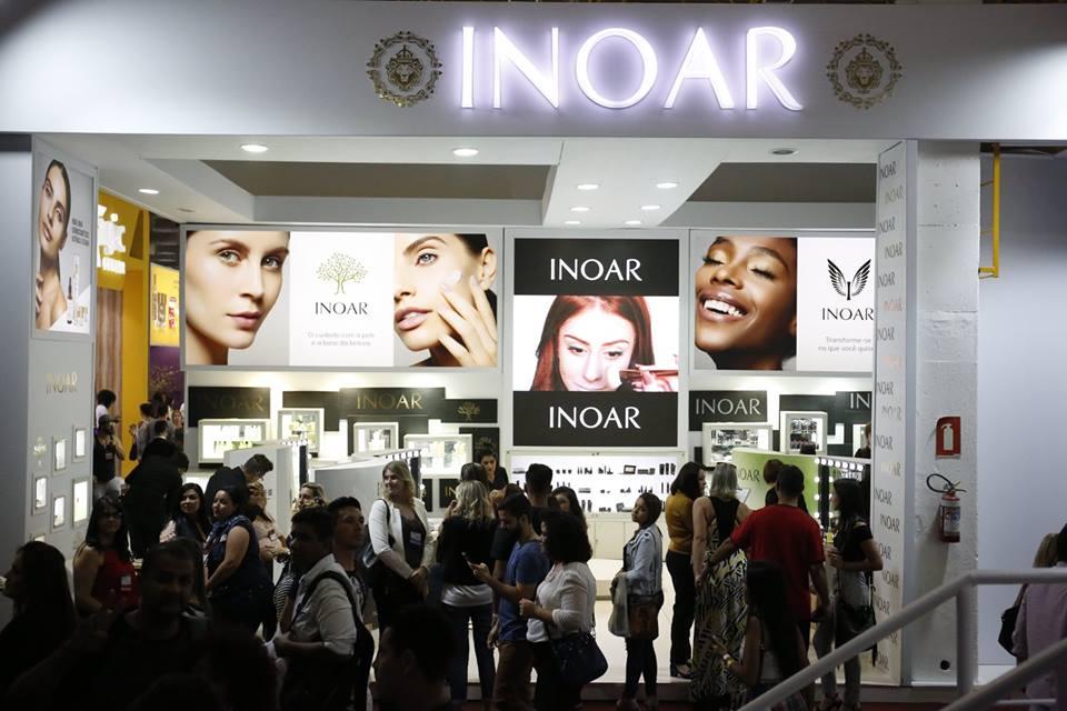 Inoar inova e lança linha de maquiagem na Beauty Fair 2017