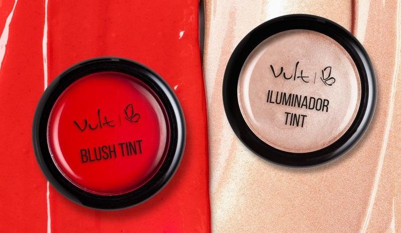 Vult apresenta blush e iluminador tint com inovadora textura jelly